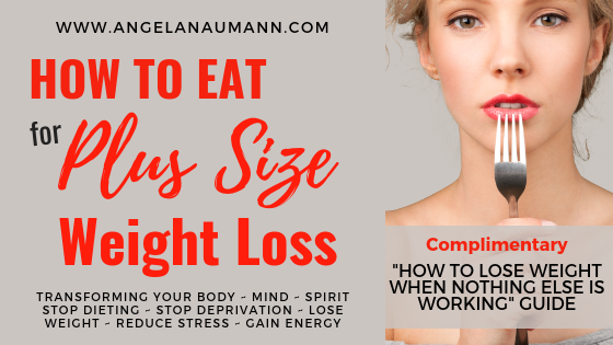 Tips on How to Eat for Plus Size Weight Loss