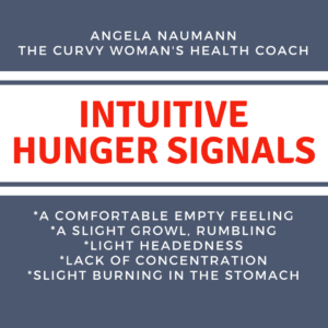 Intuitive Hunger Signals, Plus Size Weight Loss Tips for Plus Size Women Over 40