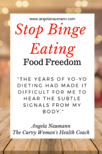 Stop Binge Eating | Food Freedom