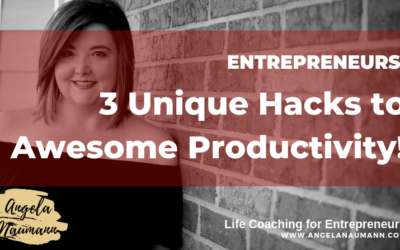 3 Unique Hacks to Awesome Productivity