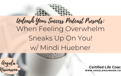 Bonus Episode 41: When Feeling Overwhelm Sneaks Up On You!  w/ Mindi Huebner